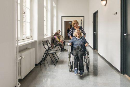 Begeleiding naar zorgverleners