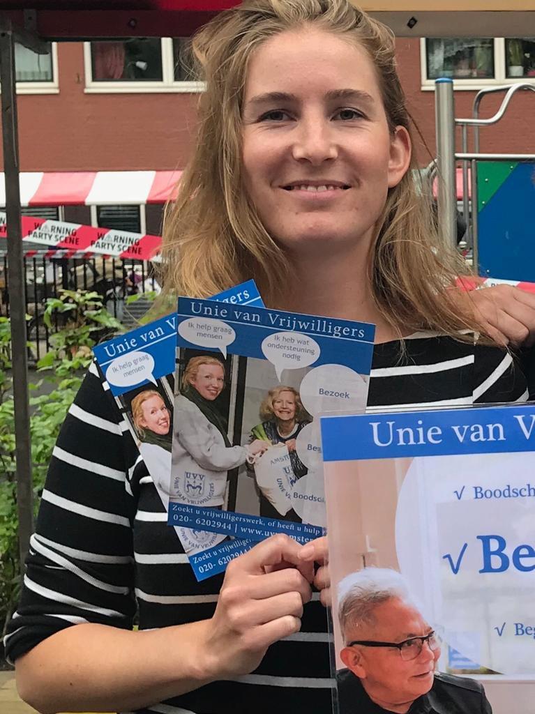 Anne-Sophie 3 jaar bij UVV-Amsterdam | UVV Amsterdam